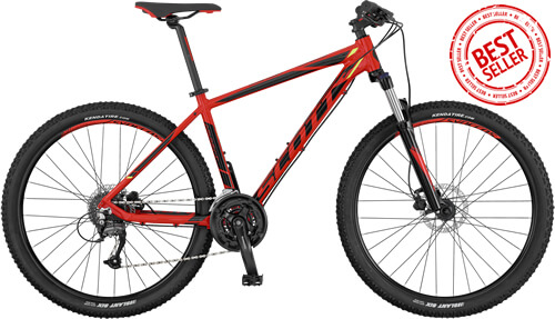 Scott Aspect 950 Red Mountain Bike Review 2017