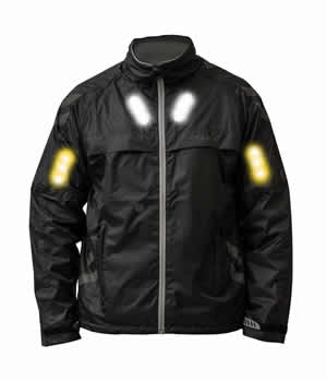 Visijax Black Commuter Jacket
