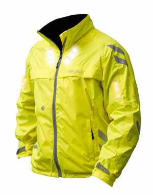 Visijax Yellow Commuter Jacket