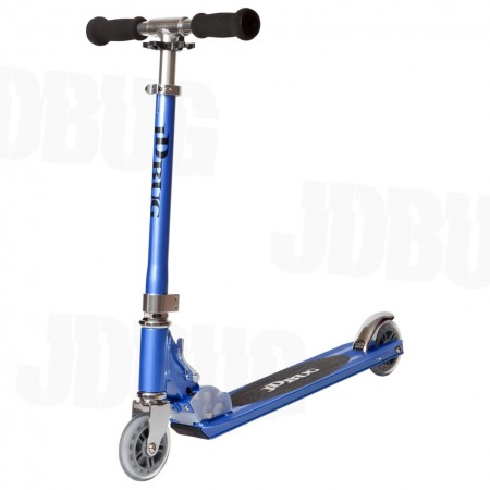 JD Bug Original Street Folding Kids Scooter -Reflex Blue