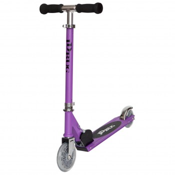 JD Bug Junior Eco Street Folding Kids Scooter -Matt Purple