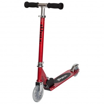 JD Bug Junior Eco Street Folding Kids Scooter -Red Pearl