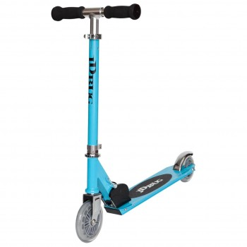 JD Bug Junior Eco Street Folding Kids Scooter - Sky Blue