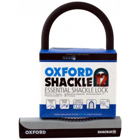 Oxford Shackle 12 Bike D Lock