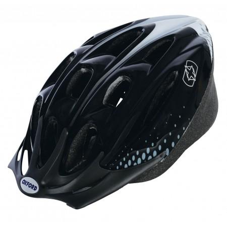 Oxford F15 Hurricane Black Bike Helmet