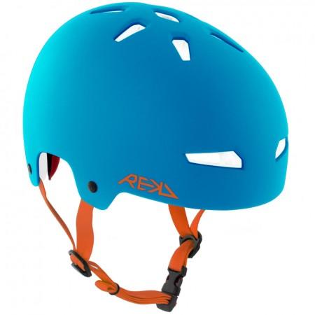 Rekd Elite Multi Sport Helmet Blue Orange