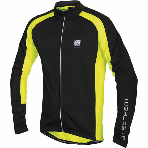 Black / Yellow Altura Long Sleeve Jersey